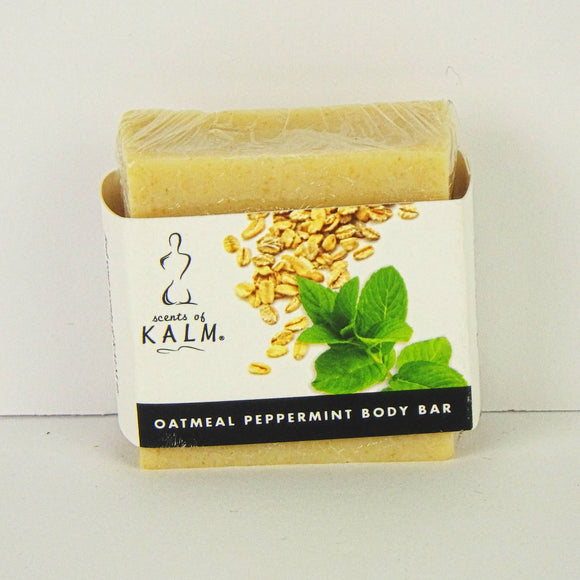 Scents of Kalm 4oz. Oatmeal Peppermint Body Bar Soap