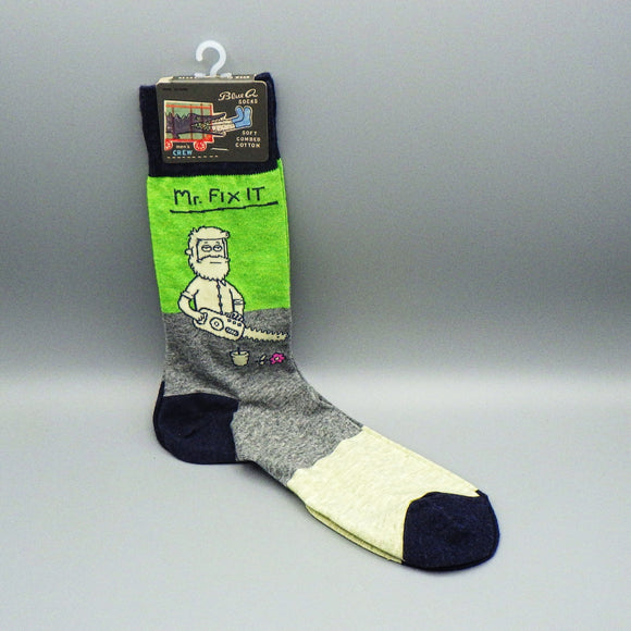 Men's Crew Socks - Mr. Fix It