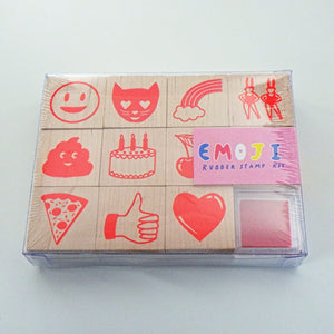 Rubber Stamp Kit - Emoji