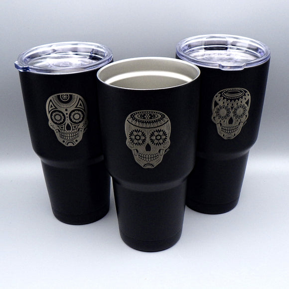 Thermal Tumbler - Day of the Dead