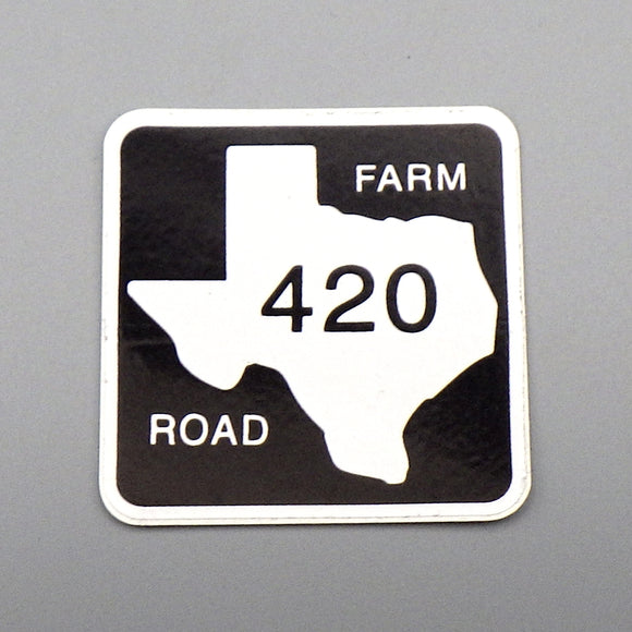 Sticker - 420 Farm Road