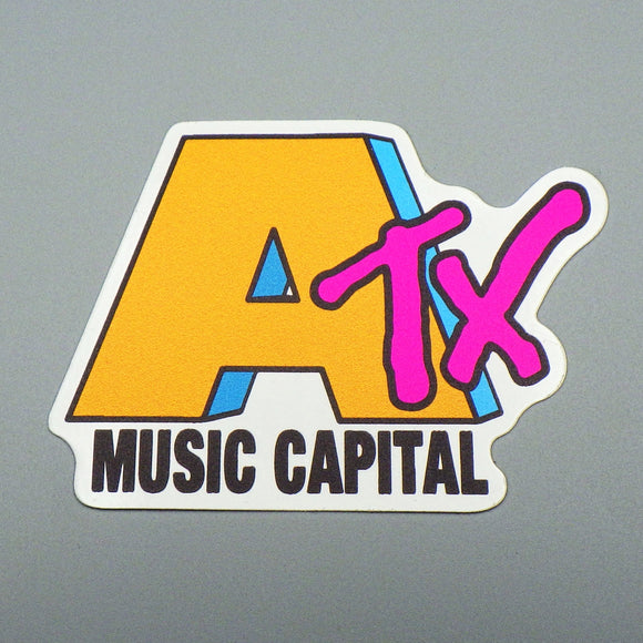 Sticker - ATX Music Capital