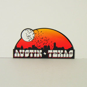 Sticker - Austin Bat Sunset