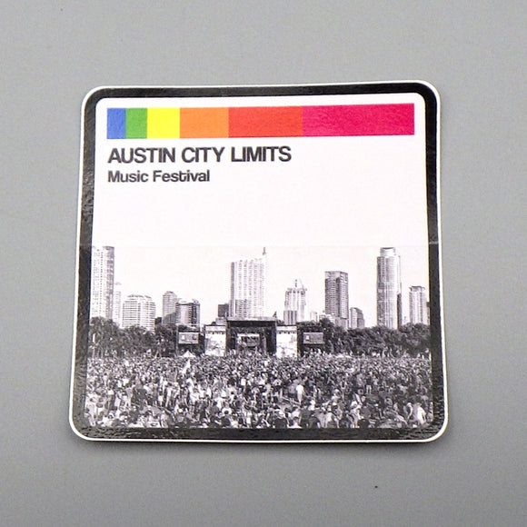 Sticker - Austin City Limits Skyline