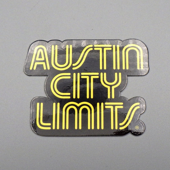 Sticker - Austin City Limits (Yellow Logo)