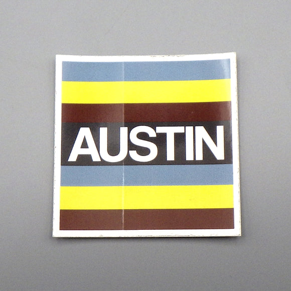 Sticker - Austin Stripes