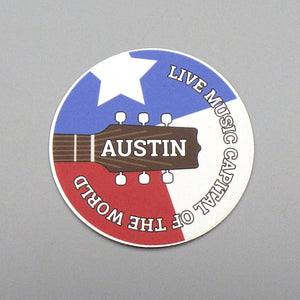 Sticker - Austin Live Music Capital of the World