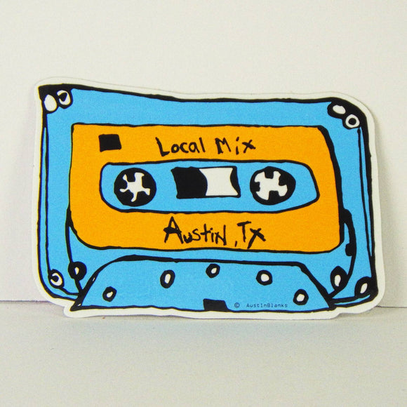 Sticker - Austin Local Mixtape