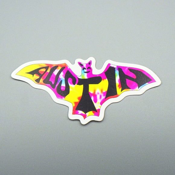 Sticker - Multicolor Austin Bat