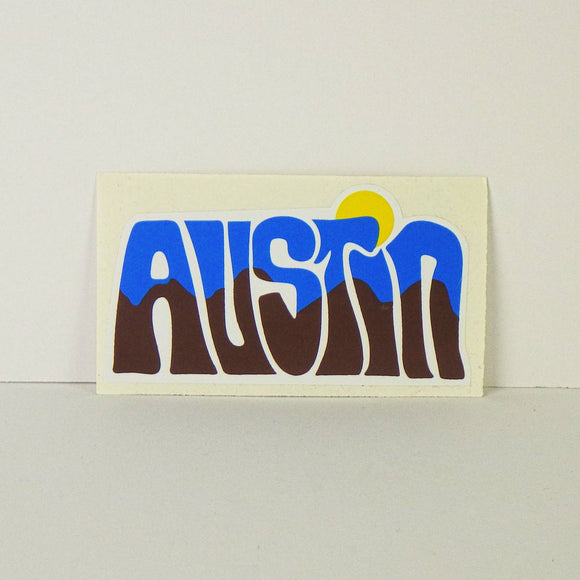 Sticker - Funky Austin Sunrise
