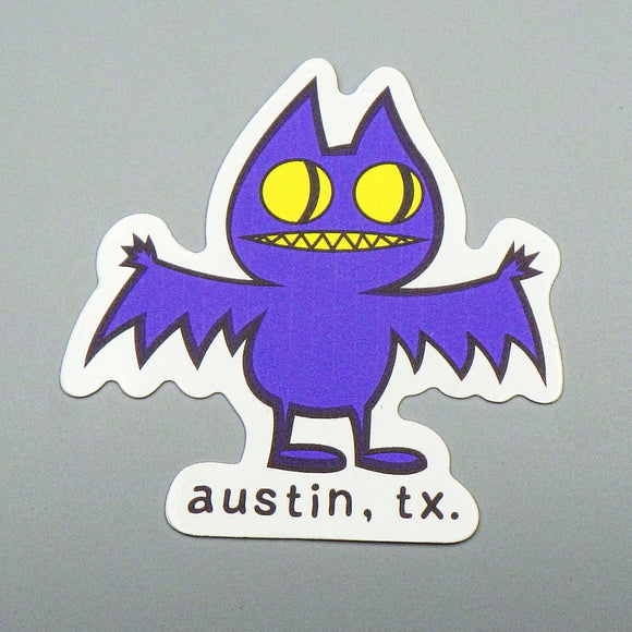 Sticker - Austin TX Bat