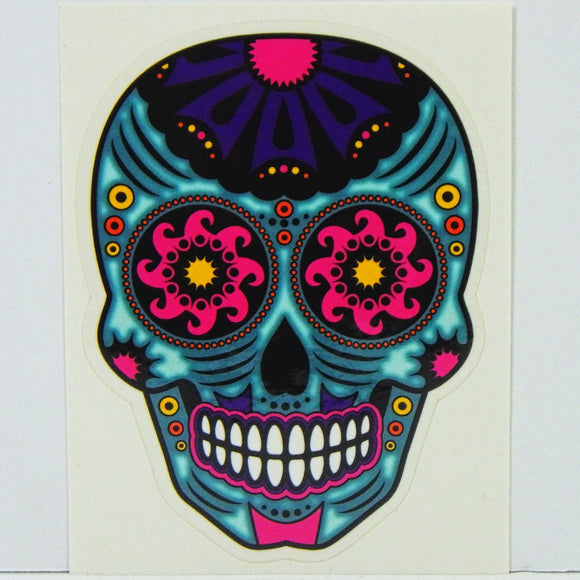 Sticker - Frenzy Blue Skull