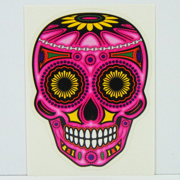 Sticker - Frenzy Pink Skull