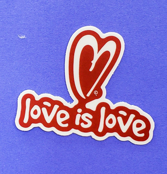 Sticker - Love is Love by XOXO from Austin