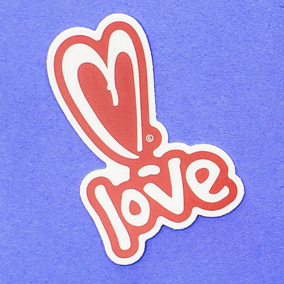 Sticker - Love by XOXO from Austin