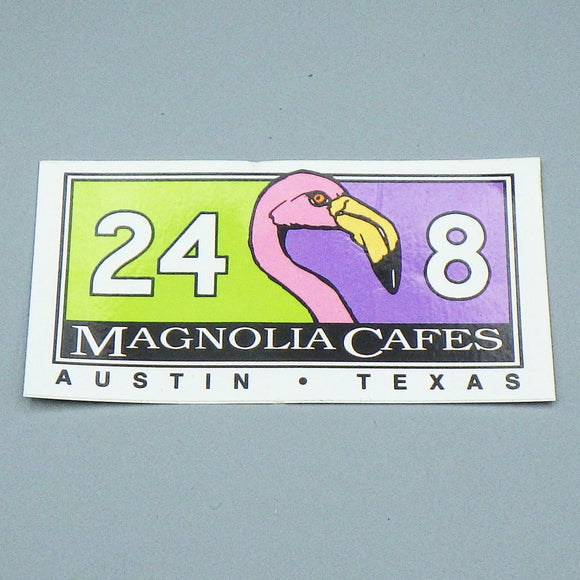 Souvenir Sticker - Magnolia Cafe 24/8