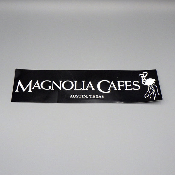 Souvenir Sticker - Magnolia Cafe B&W Flamingoes