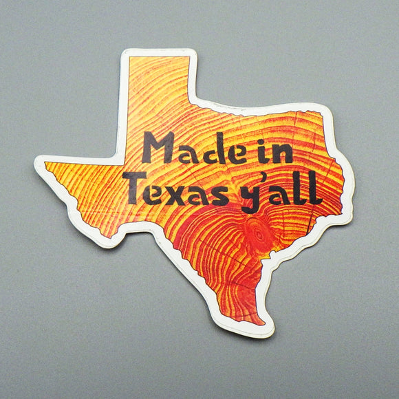 Sticker - Made In Texas