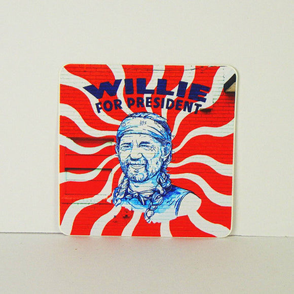 Sticker - Willie for President