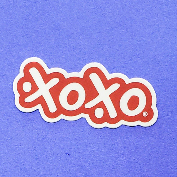 Sticker - xoxo by XOXO from Austin
