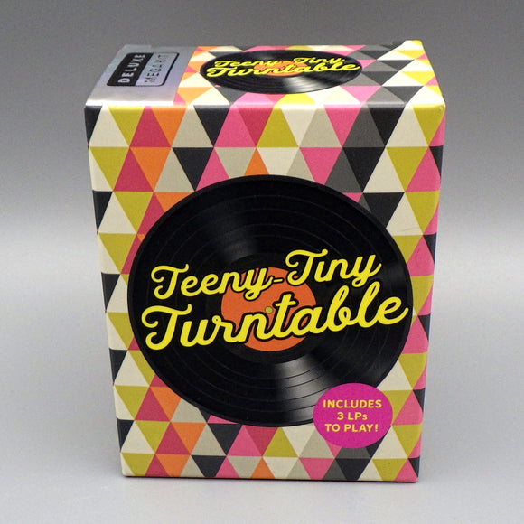 Teeny Tiny Turntable