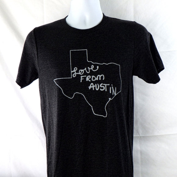 T-Shirt - Love from Austin