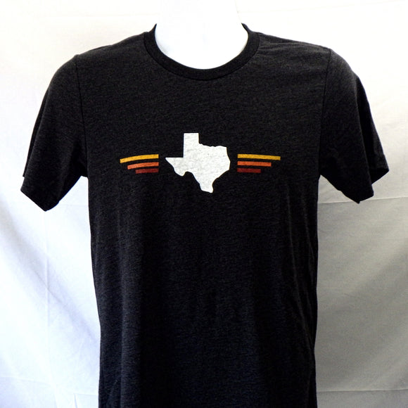 T-Shirt - Texas State & Stripes by Lymbo