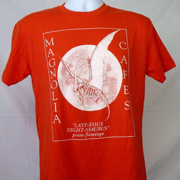 T-Shirt - Magnolia Proto-Flamingo Orange