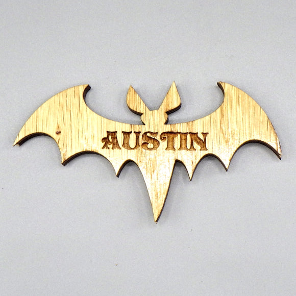 Wooden Magnet - Austin Bat by Lazer Beam