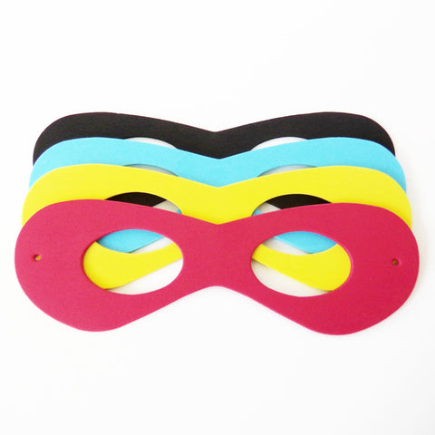 Boys Superhero Foam Mask Party Favors {12 Pack}
