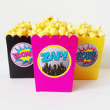 Girl Superhero XL Favor Tags