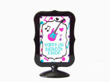 Rock Star Cupcake Toppers & Wrappers Set