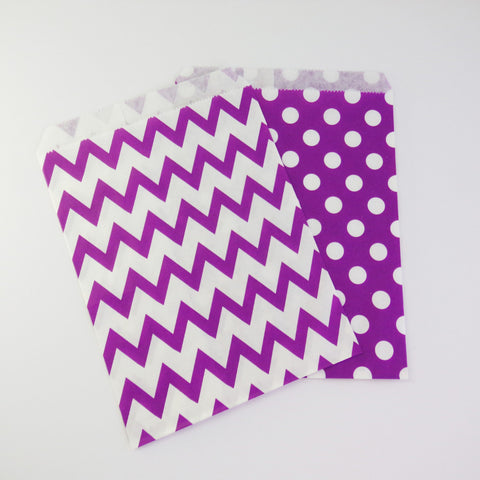Treat Bags {Purple}