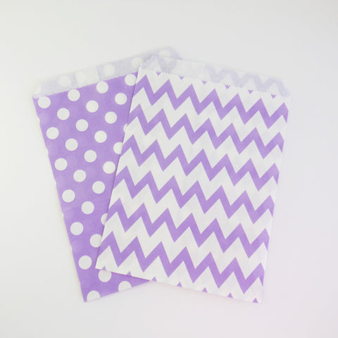 Treat Bags {Lilac}