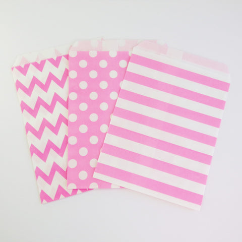 Treat Bags {Candy Pink}