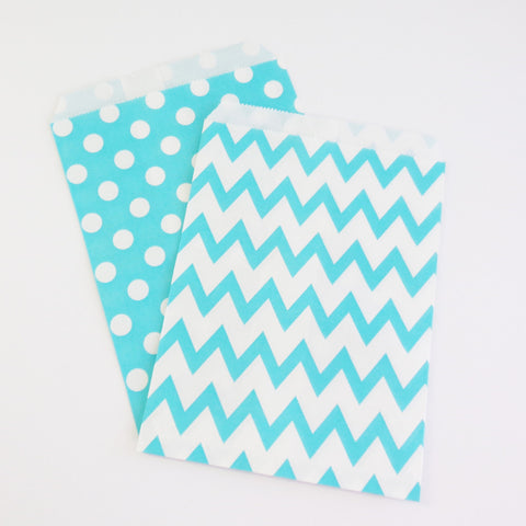 Treat Bags {Turquoise}