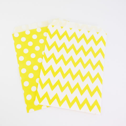 Treat Bags {Yellow}