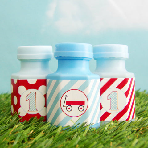 Little Red Wagon Mini Bubbles