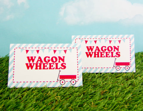 Little Red Wagon Food Labels