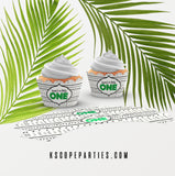 Wild One Cupcake Wrappers