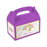 Unicorn Rainbow Gable Boxes