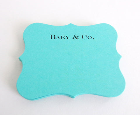 Personalized Fancy Place Cards