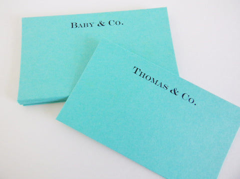 Personalized Place Cards/ Wish Cards/ Note Cards/ Escort Cards