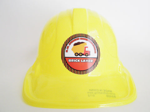 Construction Hat Party Favors {Personalized}