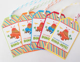Dinosaur Favor Tags