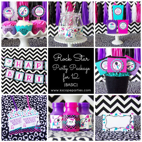 Rock Star Party Package {Basic}