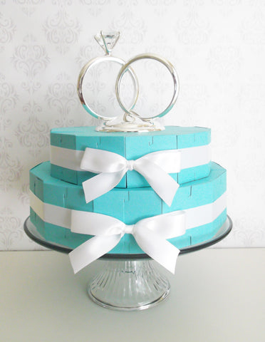 Cake Slice Favor Box Centerpiece Kit