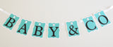 Baby & Co. Personalized Banner