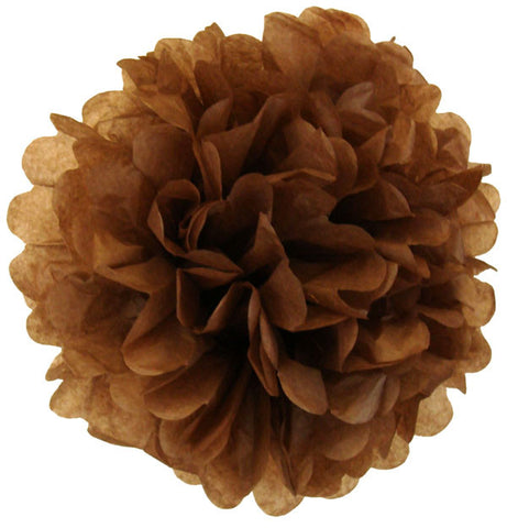 Tissue Paper Pom Pom Chocolate