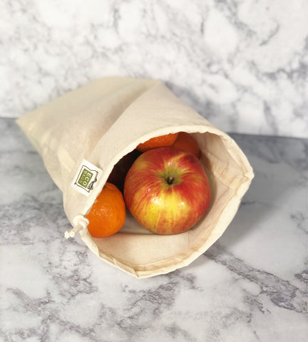 canvas produce bags